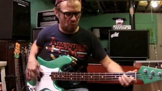 Get on the Good Foot - James Brown (Fred Thomas) bass cover