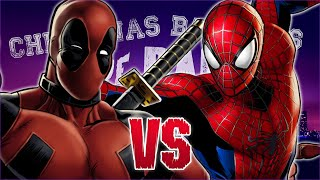 Deadpool vs Spider-Man. Chingonas Batallas de Rap de Titanes | Zoiket