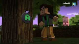 Minecraft Story Mode Training Montage - Hearts On Fire