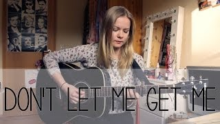 Pink - Don't Let Me Get Me Cover By Jean Rose