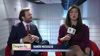 Ramón Muchacho, Habla sobre la crisis en Venezuela