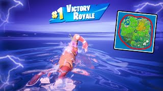 Swimming Around The ENTIRE MAP (we won)