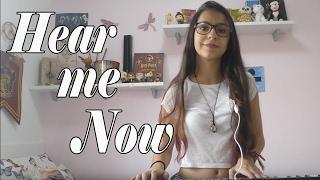 Hear Me Now- Alok & Bruno Martini feat. Zeeba Cover