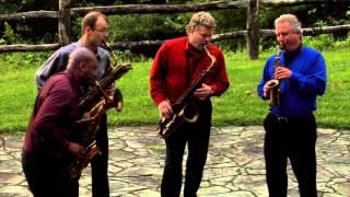 Folk Dances performed live by the New Century Saxophone Quartet