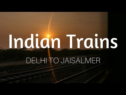 India Train Ride | Delhi to Jaisalmer AC First Class (1AC) Travel Vlog