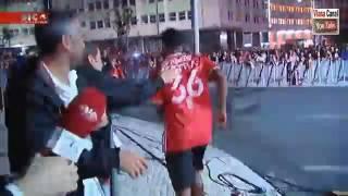 Carrillo manda um abraço a Bruno de Carvalho
