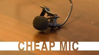 CHEAPEST Lapel Microphone | Clip Mic for Cheap | Review