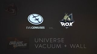 Perfect Vacuum + Wall by Universe vs  RoX KIS @ DreamLeague