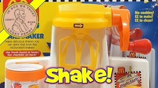 McDonald's Happy Meal Magic Shake Maker Set, 1993 Mattel Toys (Fun Recipes) width=