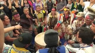 Callin' Eagle Live @ Hozhoni Days powwow 2016