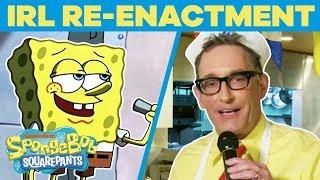 SpongeBob Cast Remake BEST Scenes EVER In REAL Life 🤪 Happy Birthday, SpongeBob   #TBT