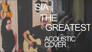 Sia -The greatest ft Kendrick Lamar official (Cover)