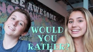Would You Rather? with Trevor Moran