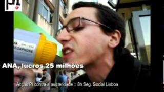 Tod@s à Greve Geral 24/11 :: Acção PI :: Seg. Social Lisboa
