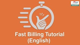 Fast Billing Mode  in Marg ERP  [English]