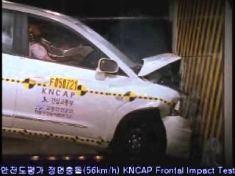 2005 SsangYong Rodius/Stavic NCAP Frontal Impact (KNCAP)