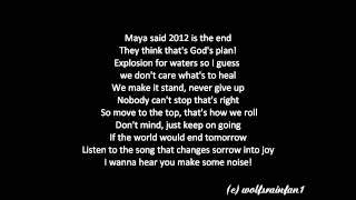 Mike Candys [ft. Evelyn und Patrick Miller]- 2012 (If the World would End) ~Lyrics~