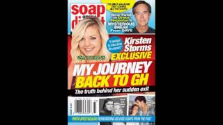8-8-16 SOD GH MAXIE Kirsten Storms Days Of Our Lives DOOL John General Hospital Promo Preview 8-5-16