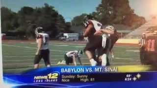 Mt  Sinai Beats Babylon 19-15