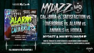 Calabria vs. Satisfaction vs. Overdrive vs. Hookah (MYDAZZ & MAURY DJ Mashup) [MYDAZZ VIP]