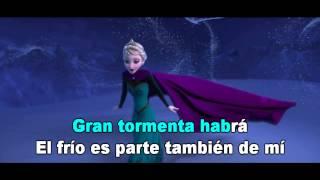 Frozen -  Libre Soy [Karaoke]