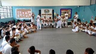 Roda de capoeira grupo Clarão da Lua