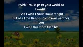 Nicole C Mullen - I Wish (with lyrics)