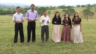 O meigo olhar de Jesus - Ana Luzia, Wilza, Carla, Cleantes, Boaz e Vini
