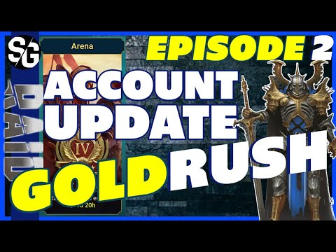 RAID SHADOW LEGENDS | GOLDRUSH EP2 ACCOUNT UPDATE!