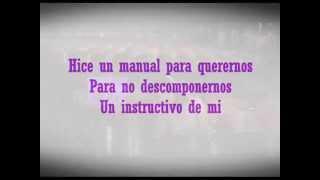 Paty Cantú Manual lyric video #HiceUnManual ...