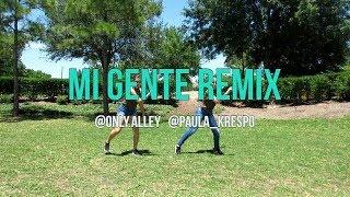 MI GENTE REMIX - J BALVIN, DJ KASS (Choreography) | Paula Krespo