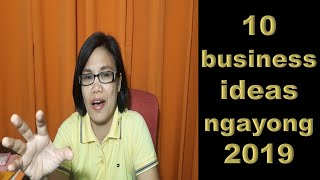 10 business ideas ngayong 2019
