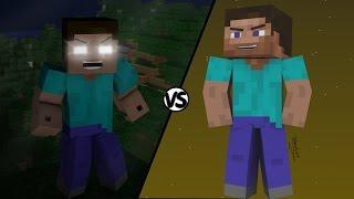 Steve VS Herobrine | Batallas Épicas