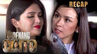 Daniela and Romina fight over fish | Kadenang Ginto Recap (With Eng Subs)