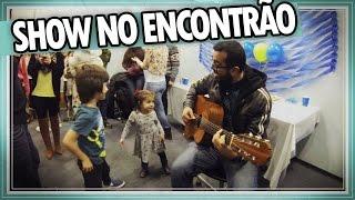 SHOW no ENCONTRÃO do CANADÁ DIÁRIO #1 - Música SANDÁLIA DE PRATA