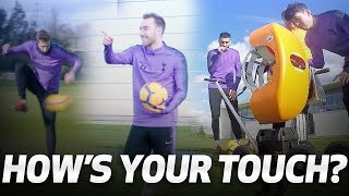HIGH-SPEED BALL CANNON   HOW'S YOUR TOUCH?   Ft. Sonny, Eriksen, Llorente & Gazzaniga