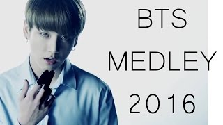 BTS MEDLEY 2016 (BLOOD SWEAT&TEARS/21ST CENTURY GIRLS/DANGER/RUN/YOUNG FOREVER/DOPE/FIRE/SAVE ME) width=