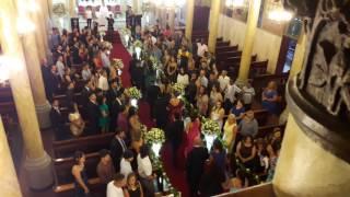 Aleluia - Entrada de noivo e padrinho  Sta Teresinha Artencanto David Marçal