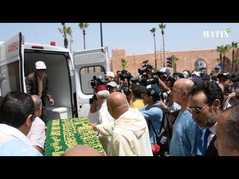 Feu Abdelkrim Ghallab inhumé au cimetière Ach-Chohada à Rabat