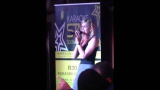 Chanel de Vos - Karaoke Star South Africa - Objection - Shakira