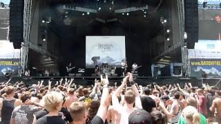 BREAKDOWN OF SANITY 'infest' live Greenfield Festival 2014
