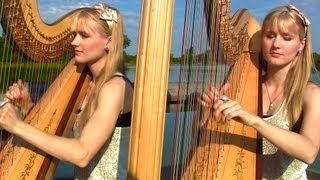 MINE (Taylor Swift) Harp Twins - Camille and Kennerly
