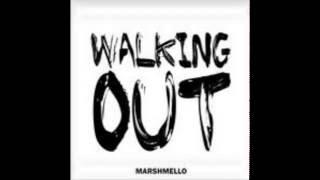 marshmello  walking out