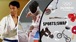Karate Vs Fencing - Can They Switch Sports?   Sports Swap Challenge