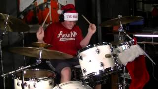 Set It Off - This Christmas I'll Burn It To The Ground - Drum Cover By Rex Larkman (Studio Quality)