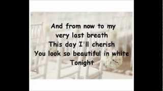 Beautiful in White Lyrics Shane Filan