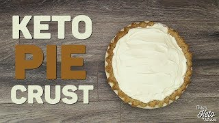 Keto Pie Crust with Hazelnut Flour | Delicious Keto Pie Crust for Sweet & Savory Dishes!