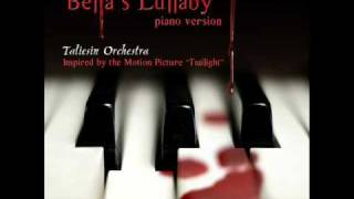 Bella's Lullaby (Piano) - Taliesin Orchestra (TWILIGHT SAGA)