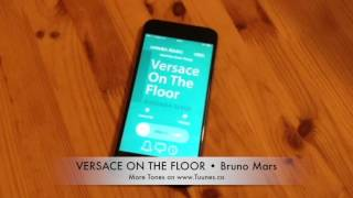 Versace On The Floor Ringtone • (Bruno Mars Tribute Marimba Remix Ringtone) • For iPhone & Android
