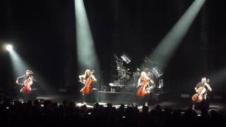Apocalyptica - Nothing else matters (Metallica cover), Praha, Forum karlin, 12.2.17